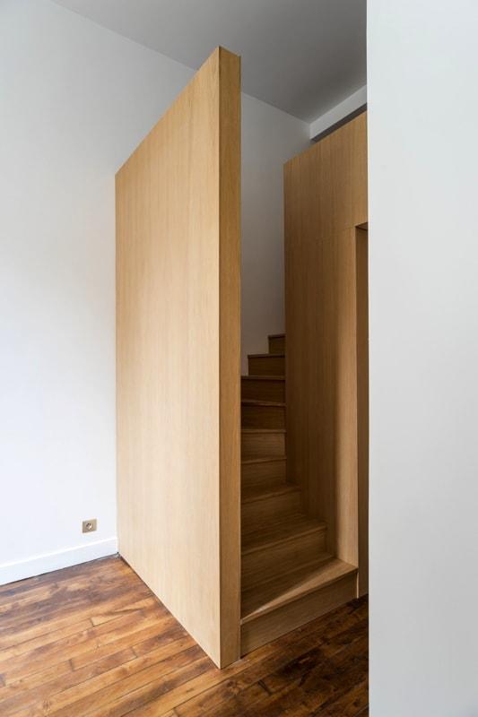 Box - escalier