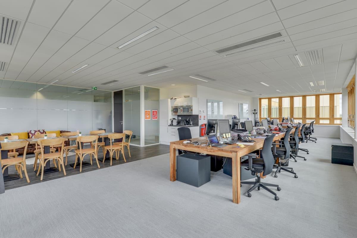 Open space de bureaux