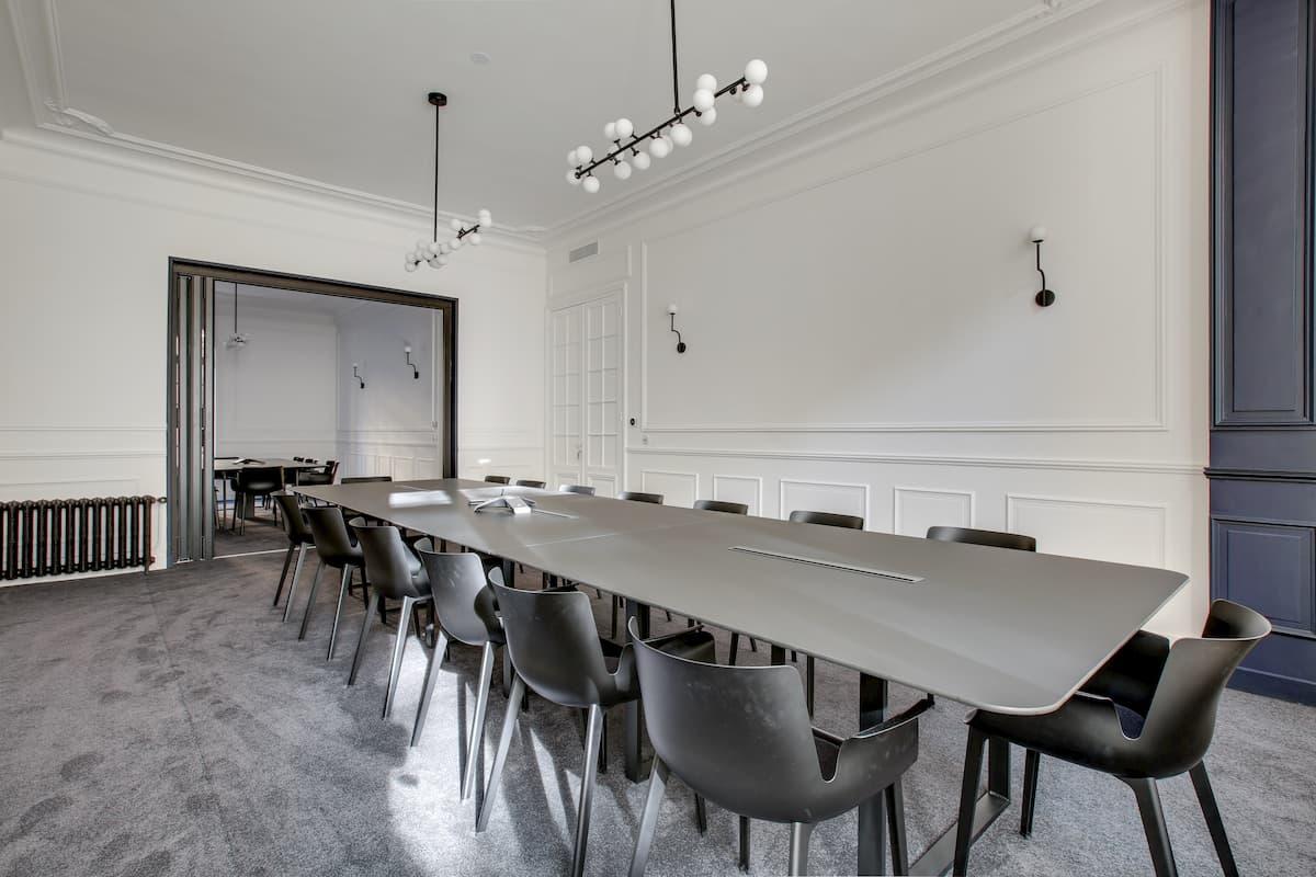Grande salle de réunion | Rénovation des bureaux pour un cabinet d'avocats