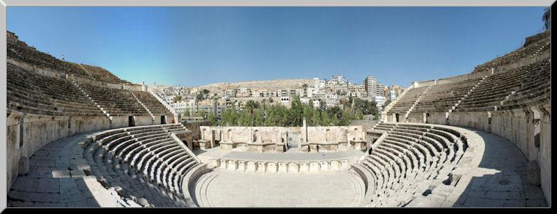 Roman Amphitheatre, Amman Jordan