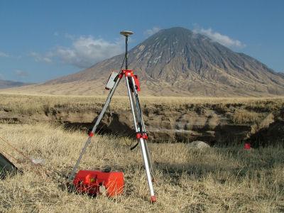 Primary Base GPS Station at Kerimasi Base camp