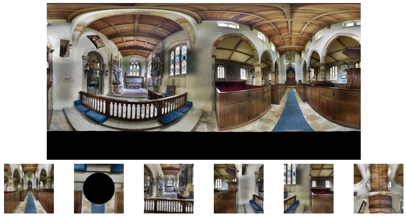 DSLR Equirectangular and Cube Images