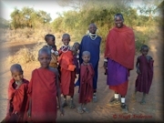 Maasai Family at Longido, Tanzania