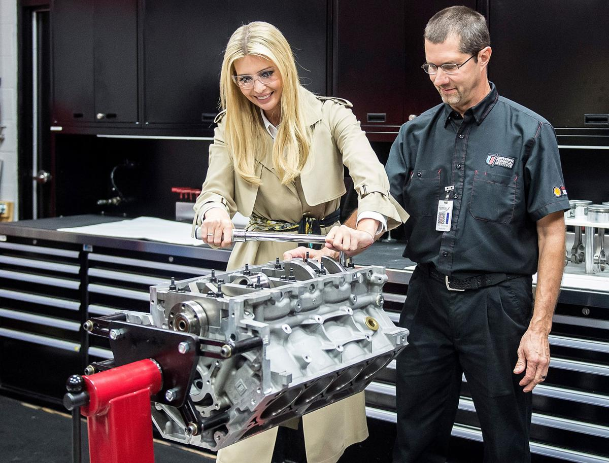hight resolution of what kind of a father would let his daughter hang around in engine building shops it may not be a mopar but it s close enough to get 7 votes from here
