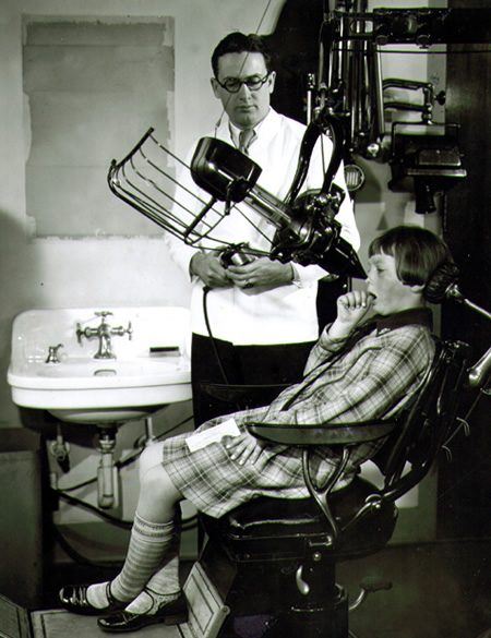 Dental x-rays revolutionized dentistry