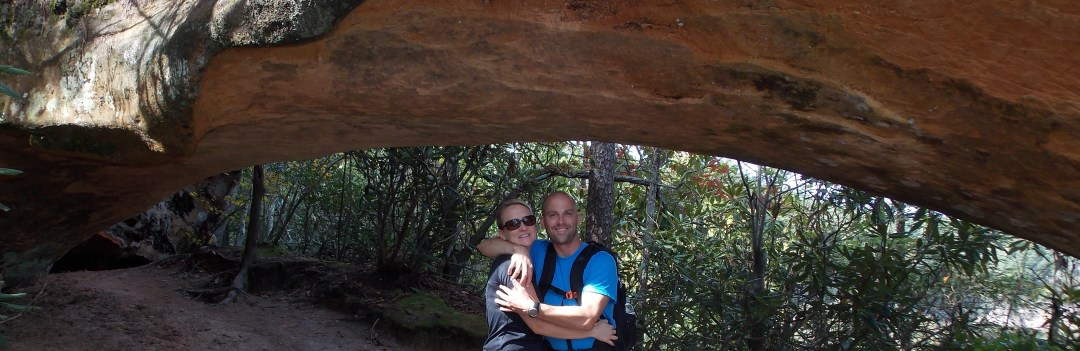 Dr. Hughes and Husband at Red River Gorge