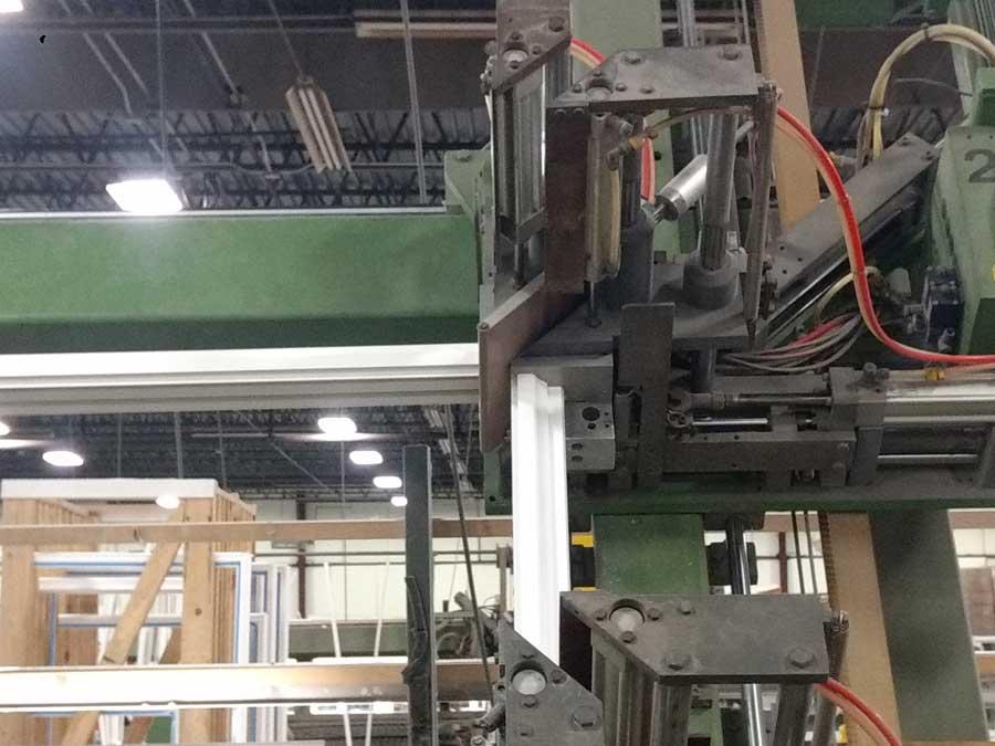 Vinyl Window Manufacturing  Conveyor Belts Modular