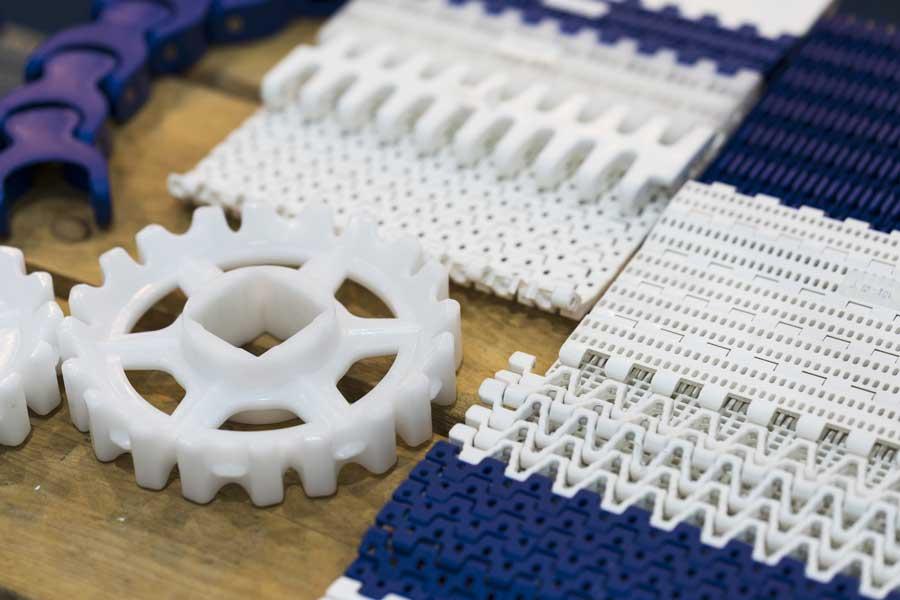 Modular Plastic Conveyor Belting Parts