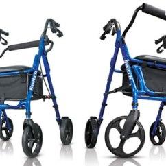 Walker Transport Chair In One Hugo Navigator Back Massager Hugo® Switch, 2 1 Rolling And –
