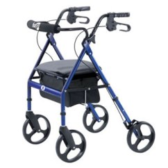 Walker Roller Chair Peacock Wicker For Sale Do I Need A Hugo Mobility Rolling With Seat