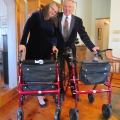 Walker Transport Chair In One Hugo Navigator Target Armless Accent Bob Hardy And Alice Nicolaou Matching Elites At