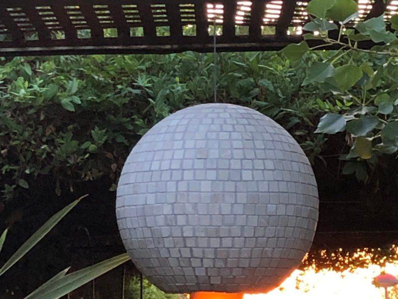 Mosaico Esférico modalidad Lámpara
