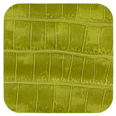 lime green croc