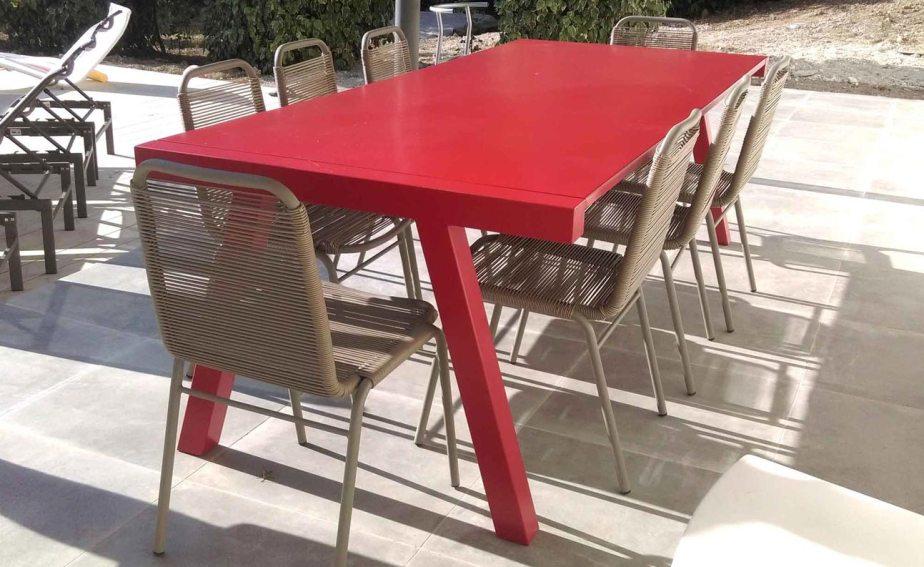Table - Designer : Philippe Gonnet - Fabrication : Hugo Ferronnerie