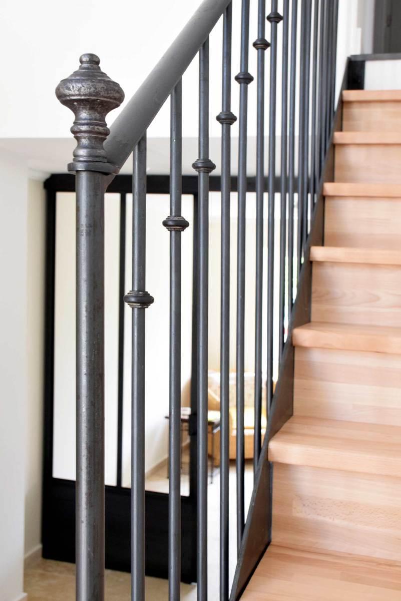 Echelle Bibliotheque Sur Rail escalier & échelle – hugo ferronnerie