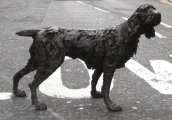 """<h5>Spaniel </h5><p>Bronze, 38"""" x 26"""" (97 x 66cm)</p>"""