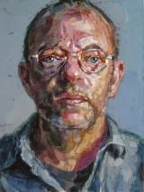 """<h5>Autoportrait 1570</h5><p>Oil on Canvas, 51"""" x 38"""" (129.5 x 96.5cm)</p>"""