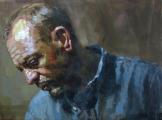 """<h5>Autoportrait 1827  </h5><p>Oil on Canvas, 38"""" x 51"""" (96.5 x 129.5cm)</p>"""