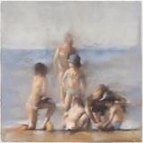 """<h5>La Méduse (grande version)</h5><p>Pastel on paper, 30½"""" x 42""""(77.5 x 107cm)</p>"""