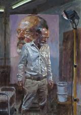 """<h5>Autoportrait (1871)</h5><p>Oil on Canvas, 65"""" x 45"""" (165 x 114.5cm)</p>"""