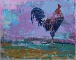 """<h5>I'm going to Set You Free</h5><p>Oil on canvas, 25 x 32"""" (63 ½ x 81 ¼cm)</p>"""
