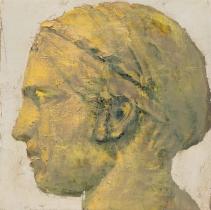 "<h5>Aurige</h5><p>Oil on Canvas. 12"" x 12"" (30.5 x 30.5 cm)</p>"