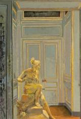 "<h5>Diane in Gold</h5><p>Oil on Canvas. 59"" x 40"" (150 x 101.5cm)</p>"