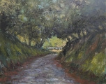 """<h5>Chemin Normand</h5><p>Oil on canvas, 28¾"""" x 36¼"""" (73 x 92cm)</p>"""