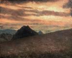 "<h5>Castillo de Pruna - 4</h5><p>Oil on canvas, 31¾"" x 39½"" (81 x 100cm)</p>"
