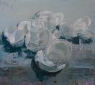 """<h5>Anniversary no. 8</h5><p>Oil on canvas, 65"""" x 72"""" (165 x 182.8cm)</p>"""
