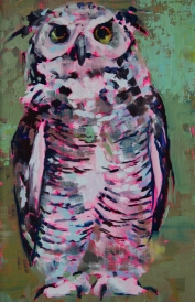 """<h5>Your eyes only</h5><p>Oil on board, 12"""" x 8½"""" (3.5 21.5cm)</p>"""