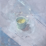 """<h5>Study of a Candle</h5><p>Acrylic on canvas, 24"""" x 24"""" (70 x 70cm)</p>"""