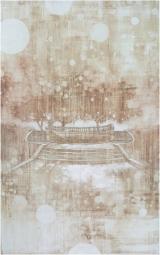 """<h5>Snow dust</h5><p> Acrylic on canvas, 48"""" x 30"""" (122 x 76cm)</p>"""