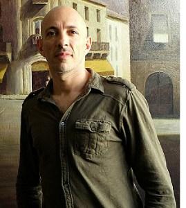 Photograph of artist Marc Chalmé