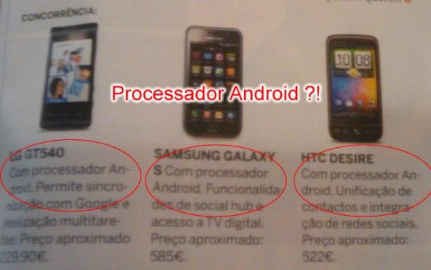 processador android !?