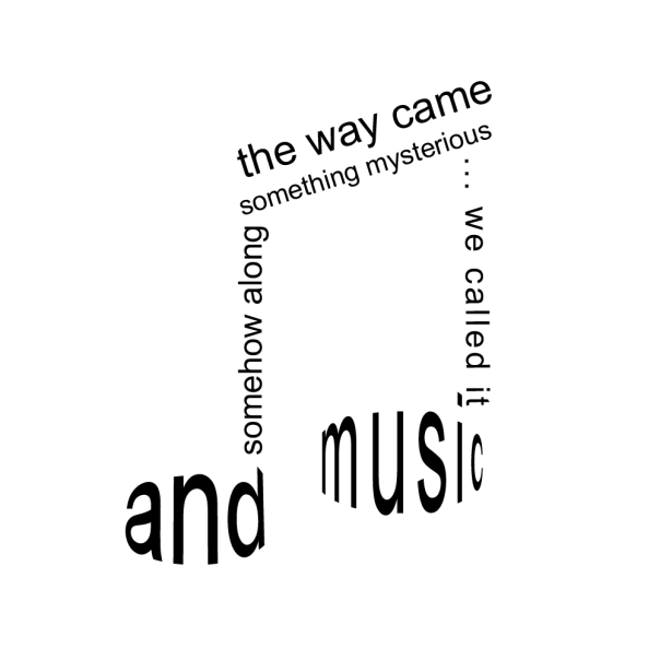We called it Music