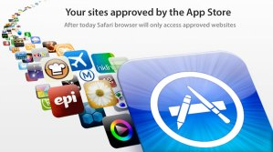 safari access app store approved sites