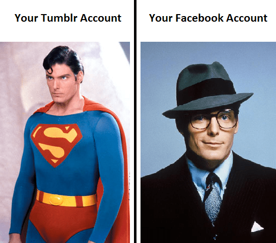 Tumblr superman Facebook clark kent