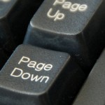Page Up Page Down Keys