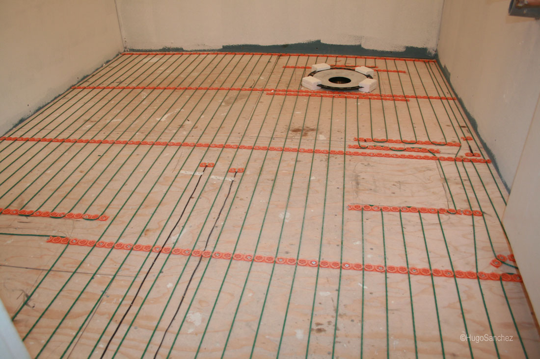 Radiant floors  Cramiques Hugo Sanchez