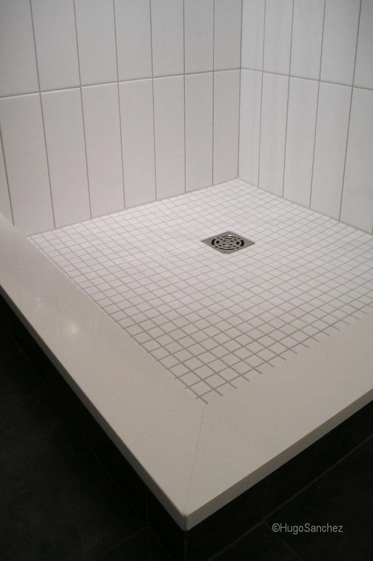 Tile Shower Base Cramiques Hugo Sanchez Inc