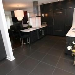 Kitchen Floor Tile Table Set Cuisine Moderne - Céramiques Hugo Sanchez Inc