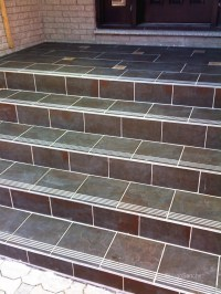 Exterior Tiles Steps | Tile Design Ideas