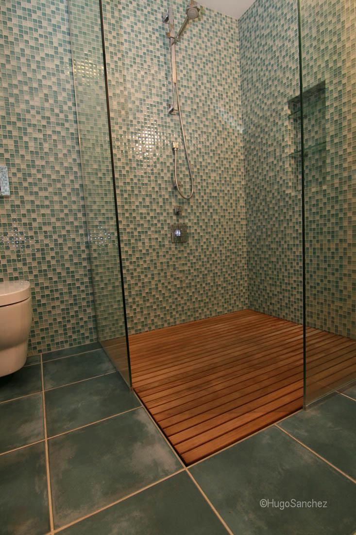 Duckboard shower  Cramiques Hugo Sanchez