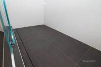 Linear shower drain - Cramiques Hugo Sanchez Inc