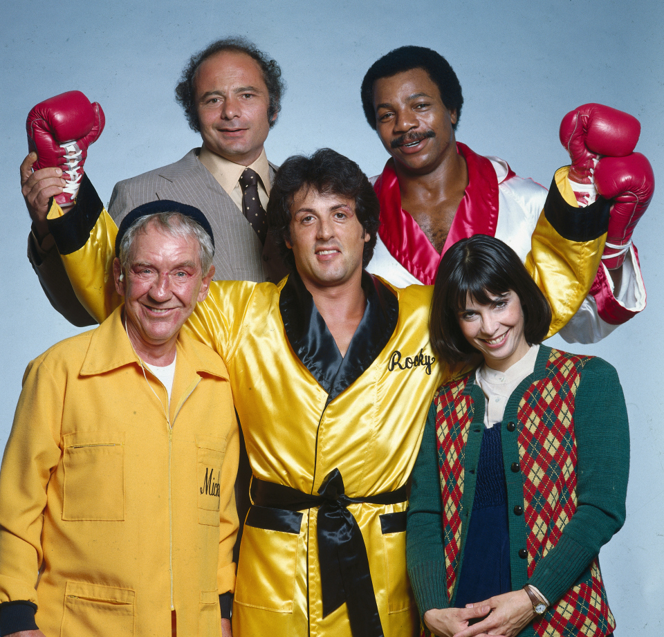 Sylvester Stallone and Cast of «Rocky II»
