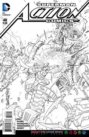 Marvel y DC incursionan en los libros anti-estrés para colorear ...