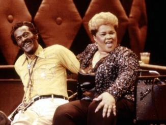 CHUCK BERRY HAIL! HAIL! ROCK 'N' ROLL, Chuck Berry, Etta James, 1987. (c) Universal Pictures