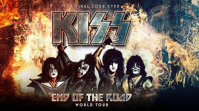Resultado de imagen para kiss end of the road tour