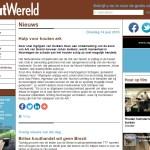 Houtwereld nieuwsbericht